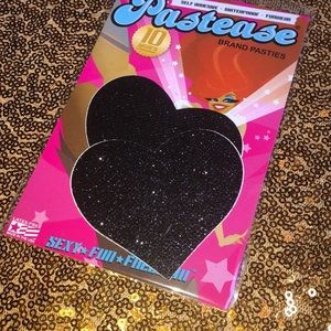 Pastease Pasties back sparkly hearts